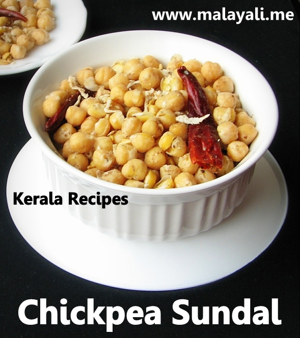 Chickpea (Garbanzo Beans) Sundal