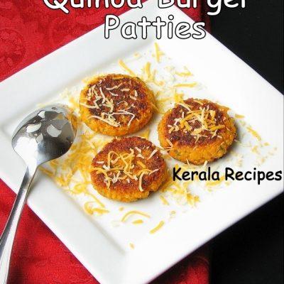 Quinoa Carrot Patties