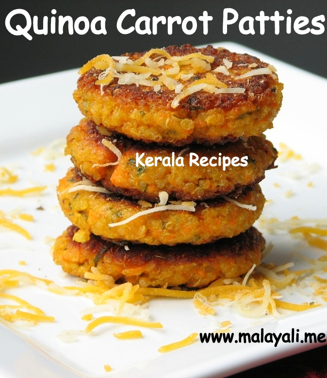 Quinoa Carrot Patties
