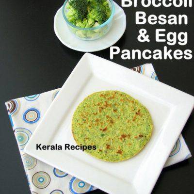 Besan Broccoli Dosa (Chickpea Flour Pancakes)