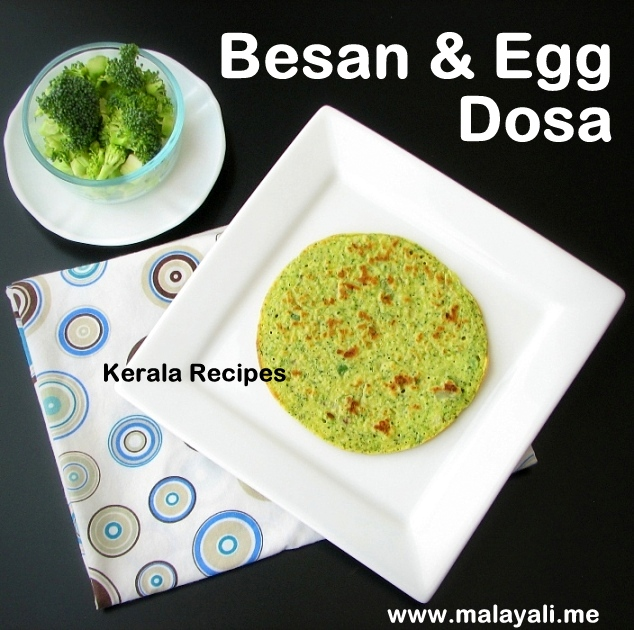 Besan Egg & Veggie Dosa