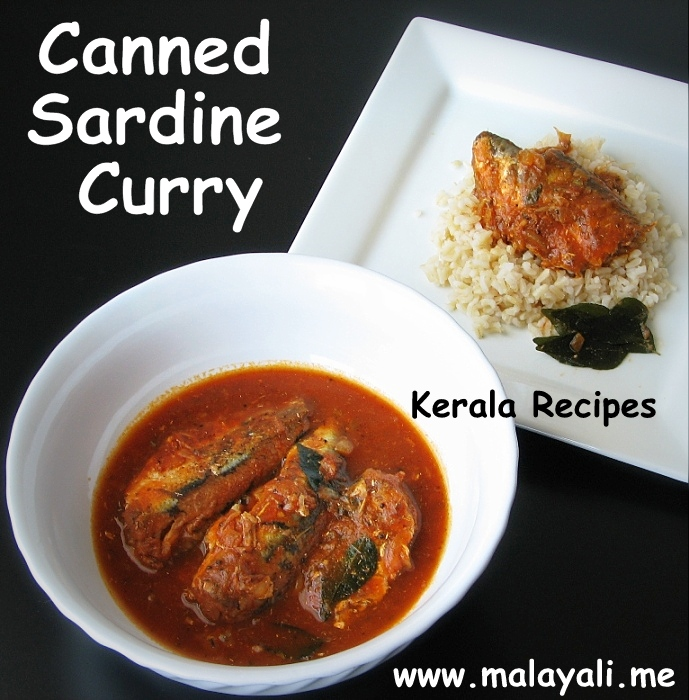 Canned Sardine Curry
