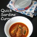 Quick Sardine Curry