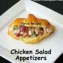 Homemade Chicken Salad Appetizer