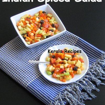 Fruit and Vegetable Salad with Indian Spices