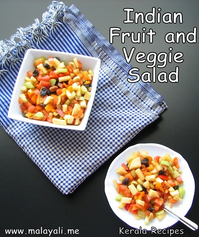 Indian Fruit & Vegetable Salad