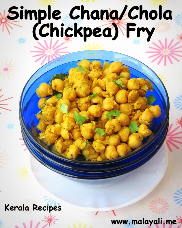 Indian Chana/Chola Fry