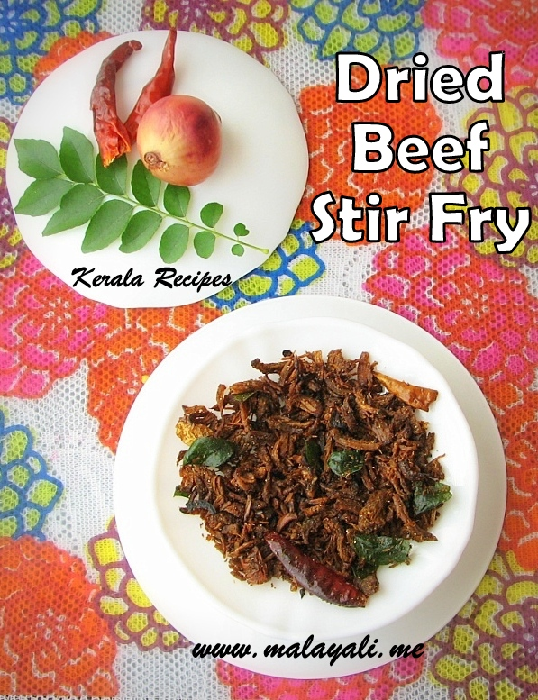 Dried Beef Stir Fry