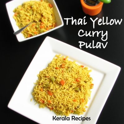 Thai Yellow Curry Pulav