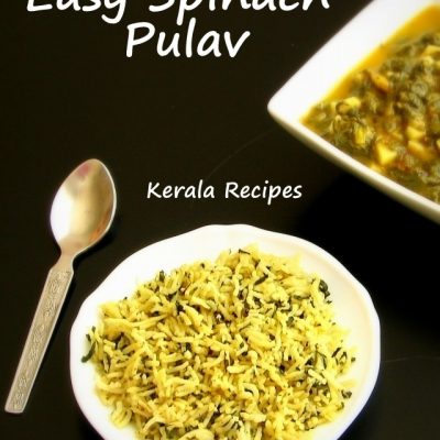Spinach Pulav