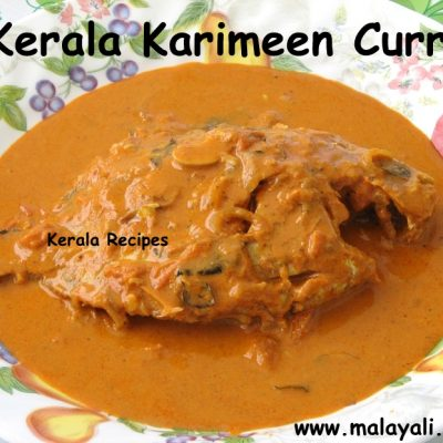 Karimeen Curry (Pearlspot Curry)