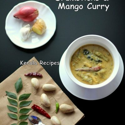 Jackfruit Seeds, Drumsticks and Mango Curry