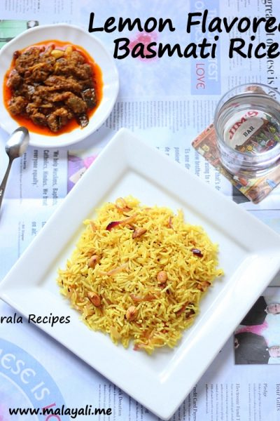 Lemon Flavored Pulav