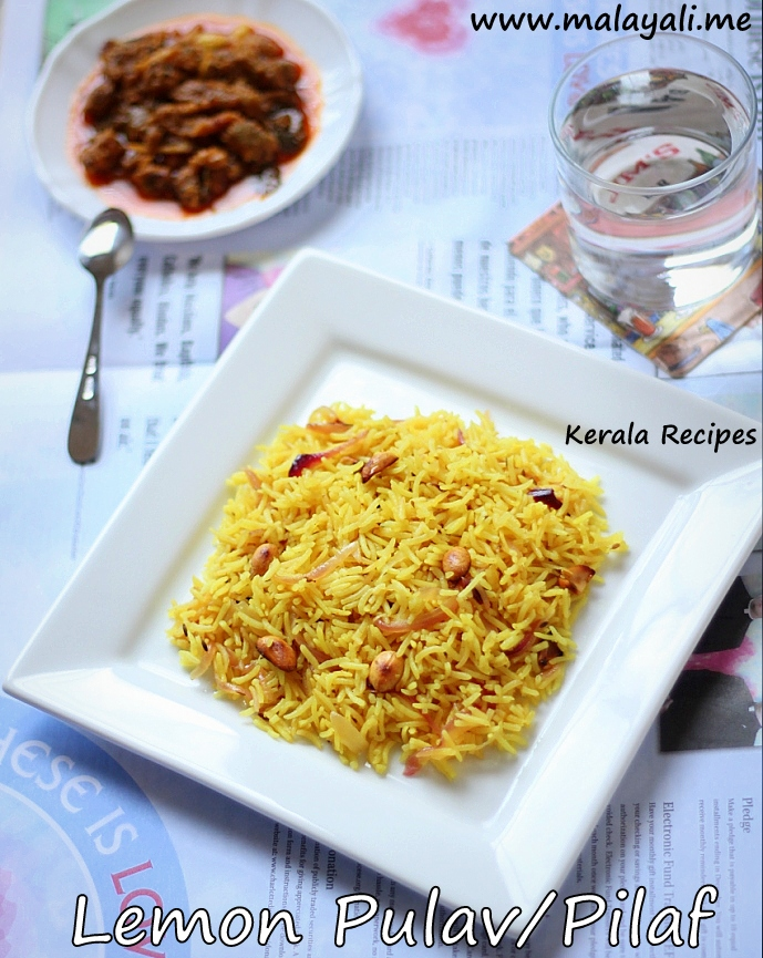 Lemon Flavored Basmati Rice