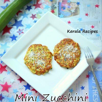 Mini Zucchini Omelettes