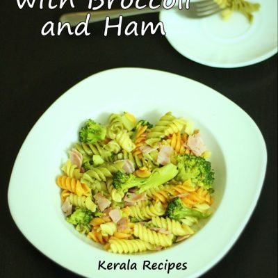 Lemony Pasta with Broccoli and Ham