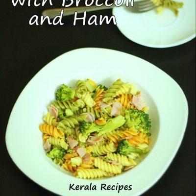 Lemony Pasta with Broccoli and Ham