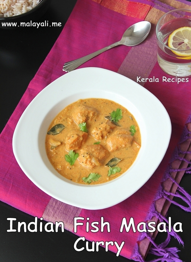 Indian Fish Masala Curry