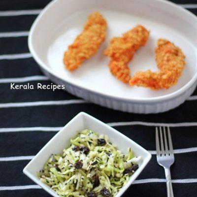 Cabbage Raisin Salad