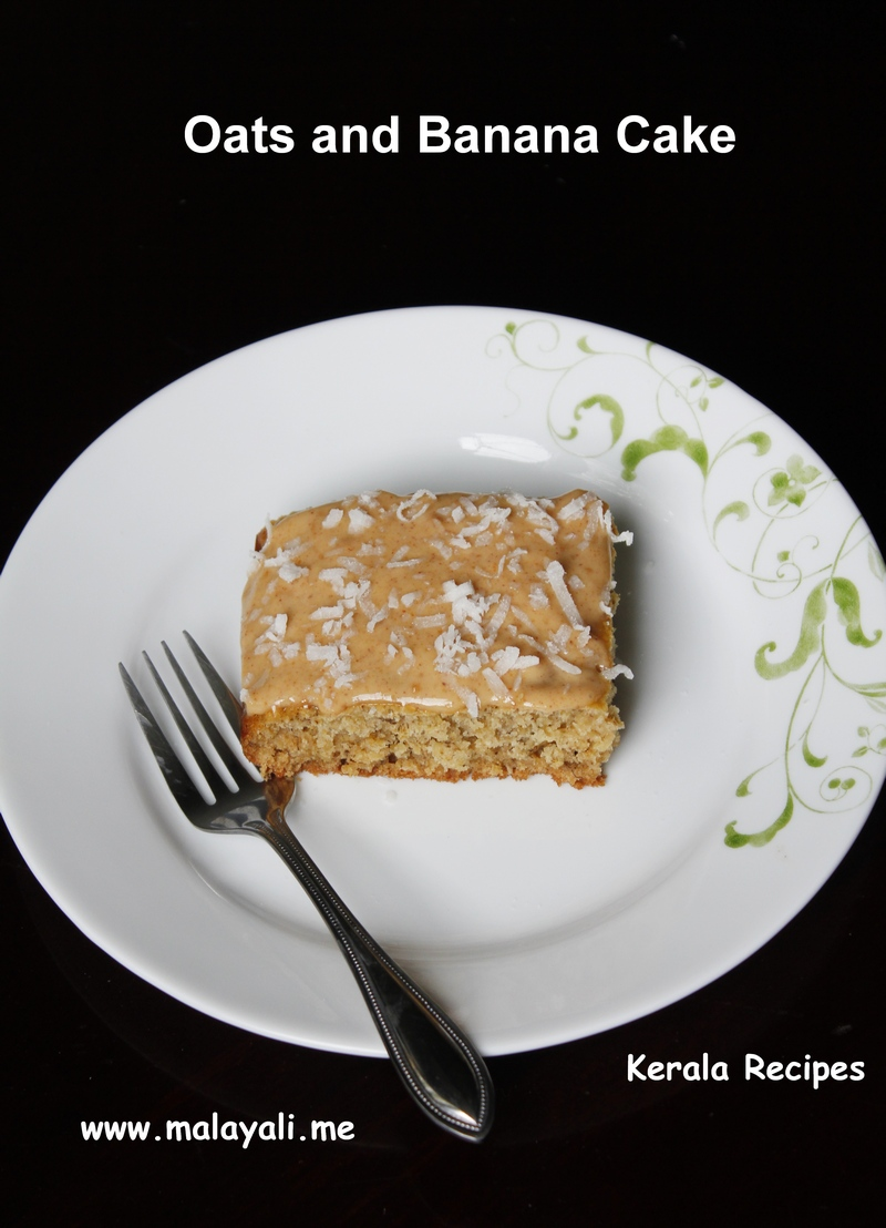 Oats and Banana Cake