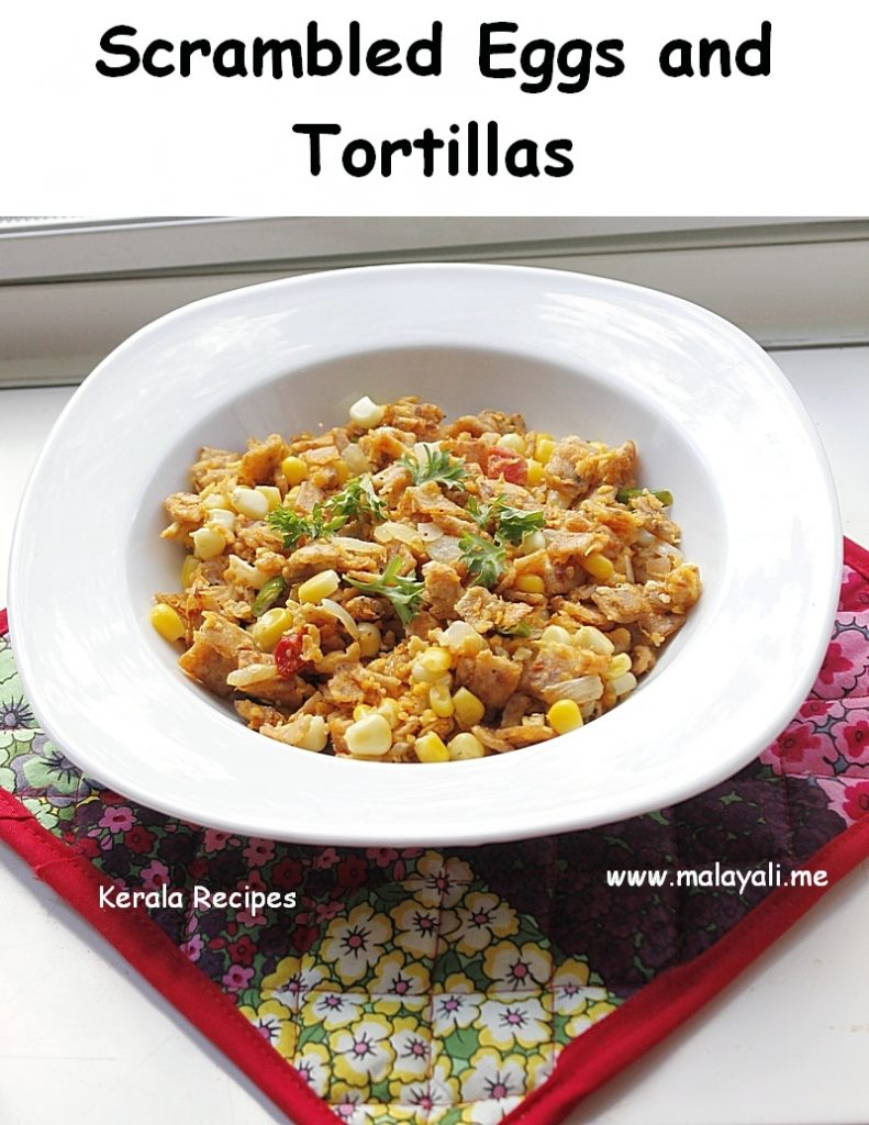 Tex-Mex Migas (Tortillas with Scrambled Eggs)